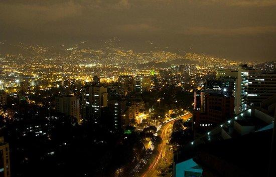 Hotel San Fernando Plaza Medellin : Vista desde balcones Hotel San Fernando Plaza
