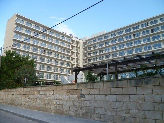 Java Hotel : Hotel von der Strandseite