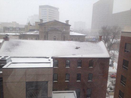 Novotel Ottawa: View from room