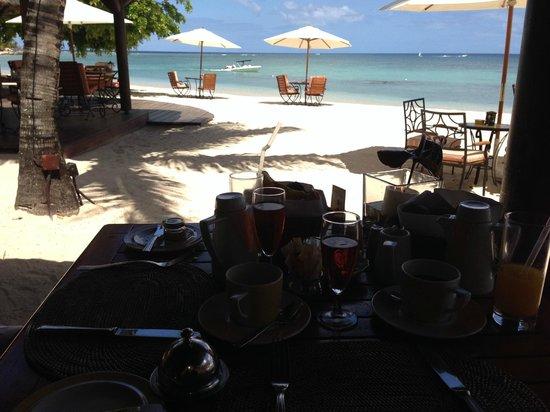 Maritim Resort & Spa Mauritius : Wunderschöner Frühstücksblick