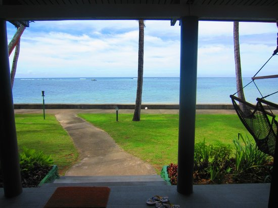 Fiji Hideaway Resort & Spa: View from veranda