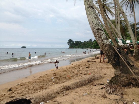 Luba, Guinea Xích Đạo: Playa Arena Blanca