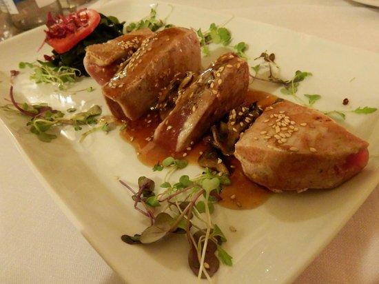 Restaurant Rostei : Tataki de atún