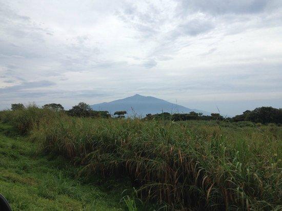 Bioko Island, Guinea Equatoriale: Pico Basile desde Moka