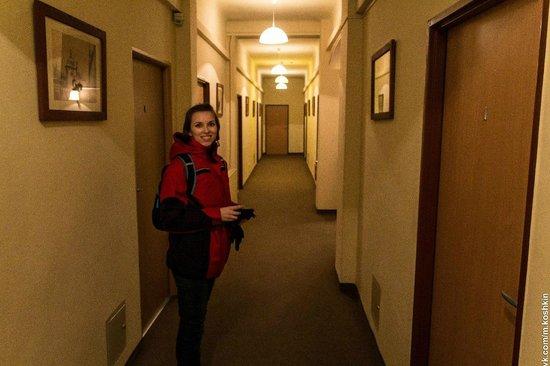 Maly Krakow Aparthotel : Коридор
