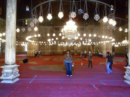 Star Shine Tours : At the Mosque of Muhammad Ali