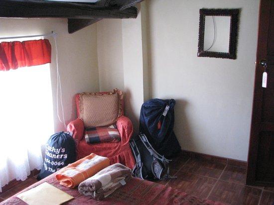 Casa Hospedaje Hatun Quilla : 3rd floor double room with shared bathroom