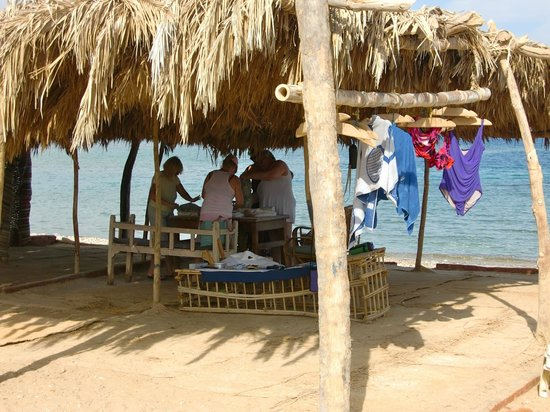 Ecolodge Rocky Valley: Workshop on the beach