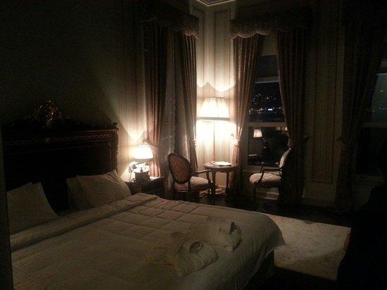 Bosphorus Palace Hotel : Deniz tarafı oda