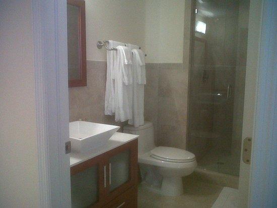 Westover Arms Hotel: Baño