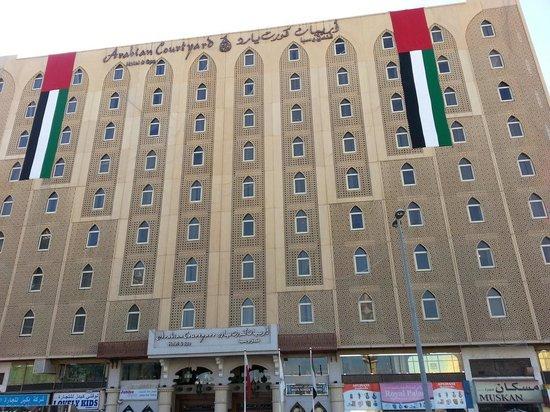 Arabian Courtyard Hotel & Spa : Hotel