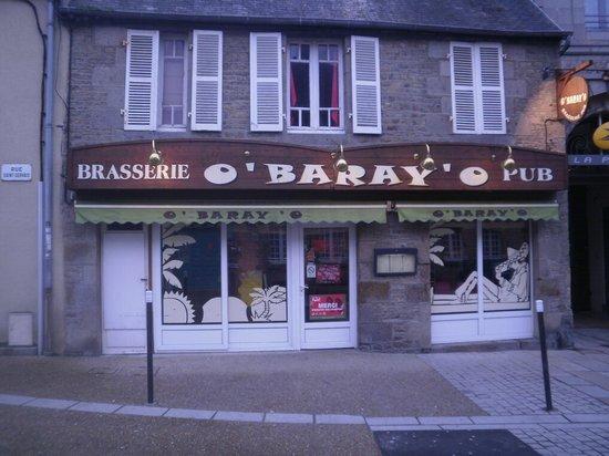 O'baray'o : L'entrée