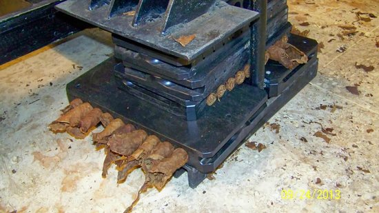 Cigar Country Tours : Cigar press