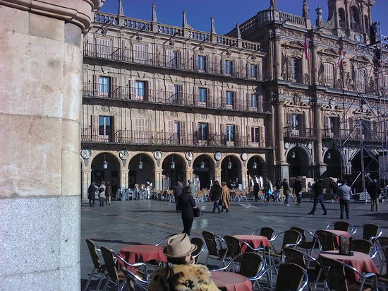 Salamanca's Plaza Mayor : Plaza Mayor