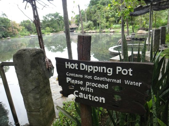 The Banjaran Hotsprings Retreat: Hotspring pool