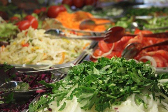 Vitaminkuche-Bistro: Frische Salate