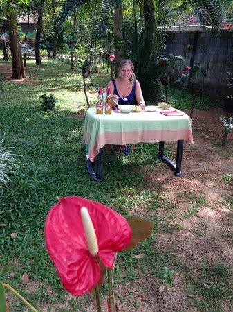 Marari Dreamz: Lecker indisches Essen königlich im Garten serviert