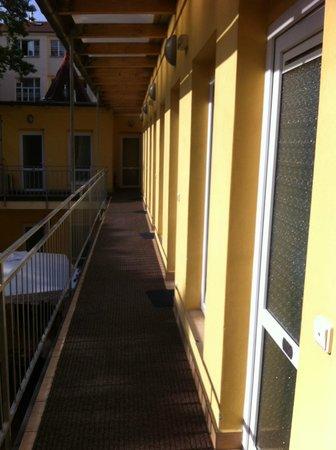Hotel Seifert: corridor