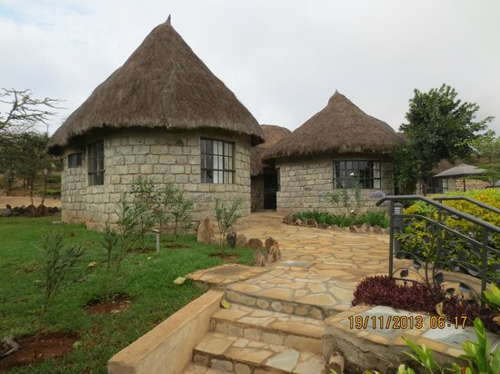 Nyati Hill Cottages: Nice rooms and good beds