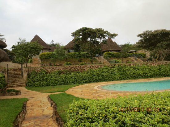 Nyati Hill Cottages: Perfect area
