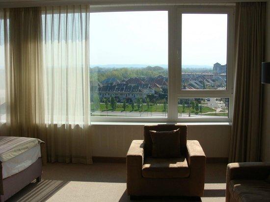 Aquaworld Resort Budapest: Vista do quarto