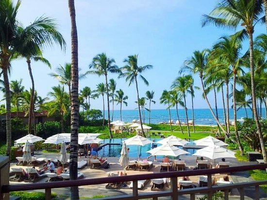 Four Seasons Resort Hualalai: Room above the adult pool