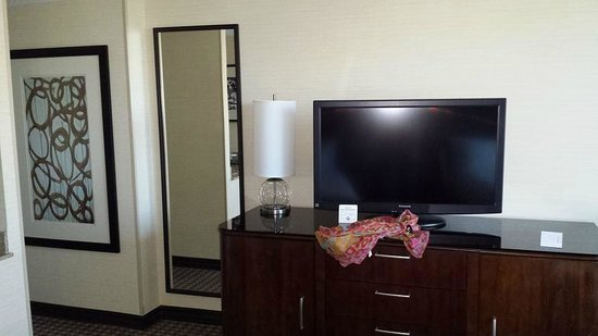 Hilton Alexandria Mark Center : 32 in Flatscreen