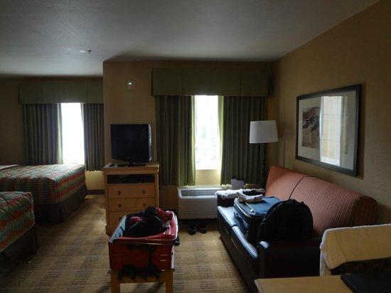 Extended Stay America - Orlando Theme Parks - Vineland Rd. : Vista geral do quarto