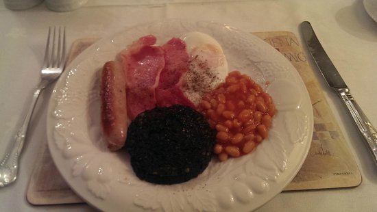 Arden House : Great cooked breakfast