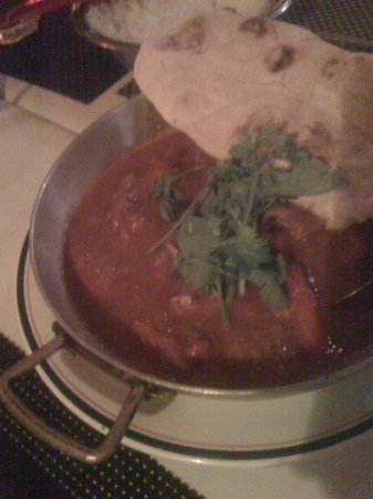 Mash British curry house : Rogan Josh Lamb/Cordero Rogan Josh