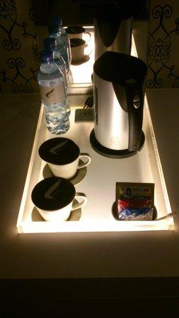 Hotel Purity : 很喜歡他們的電熱壺^^