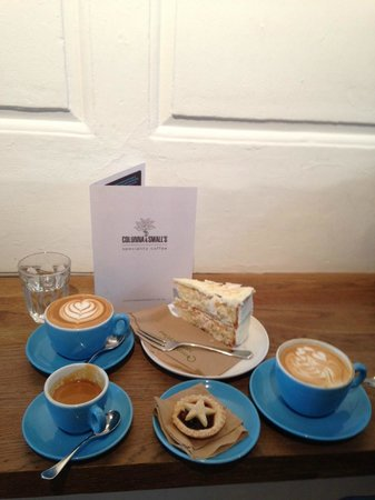 Colonna and Small's Speciality Coffee: Coffee Heaven