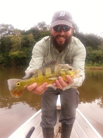 Otorongo Expeditions Jungle Lodge: Fishing