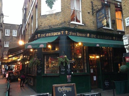 Ye Grapes London Mayfair Restaurant Reviews Phone