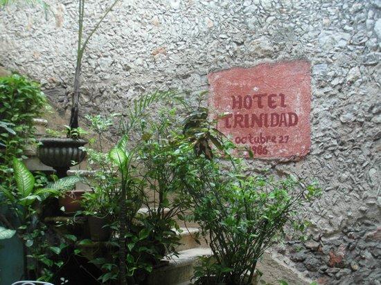 Hotel Santiago : ESCALIER MENANT AU JACUZZI