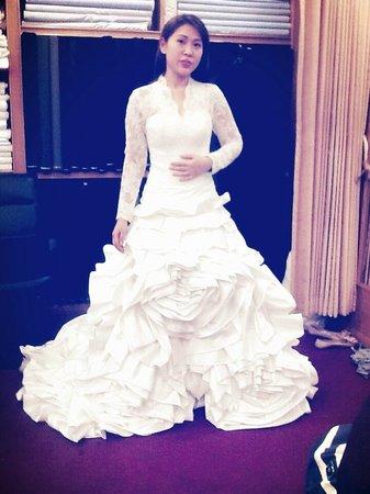 Tailor Pro Custom Wedding Dress At