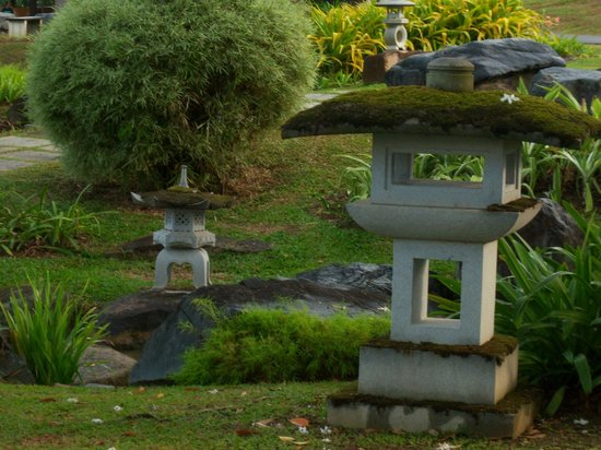 Chinese and Japanese Gardens: Fragment of Japanese Garden