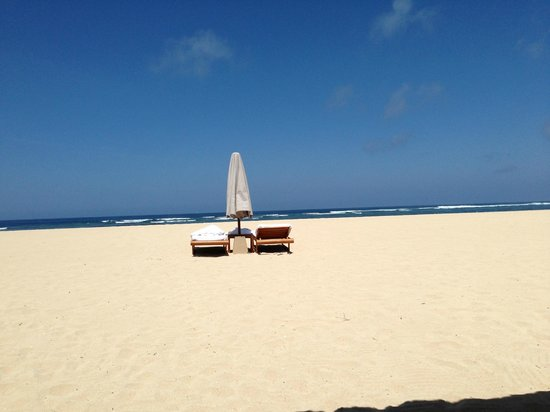 Aman Villas at Nusa Dua: beach