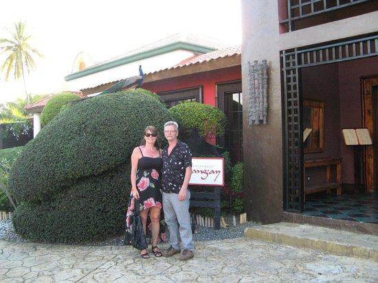 Caribe Club Princess Beach Resort & Spa: outside of the restaurant
