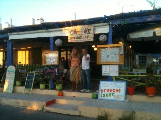 Cactus Restaurant : Vanessa @Giannis