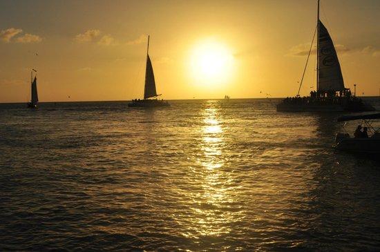 Ocean Key Resort & Spa : Sunset from the Resort