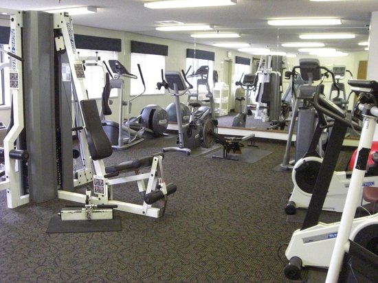 Oak Tree Inn: Fitness Room