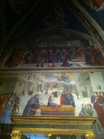 Basilica di Santa Trinita: Santa Trinita a Firenze, Cappella Sassetti