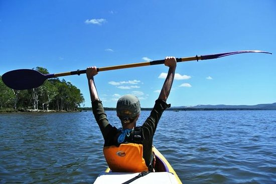 Kanu Kapers Australia Noosa Everglades Kayak Day Tours: Yeah