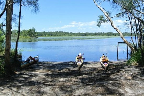 Kanu Kapers Australia Noosa Everglades Kayak Day Tours: Tea time