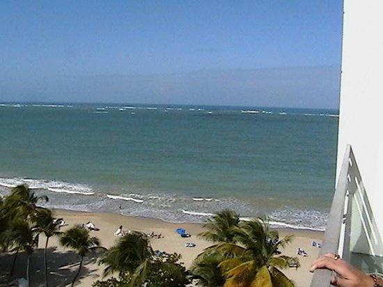 San Juan Water & Beach Club Hotel: Room 901 Beachview from balcony
