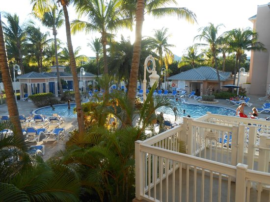 DoubleTree by Hilton Hotel Grand Key Resort - Key West : View from our first floor balcony.