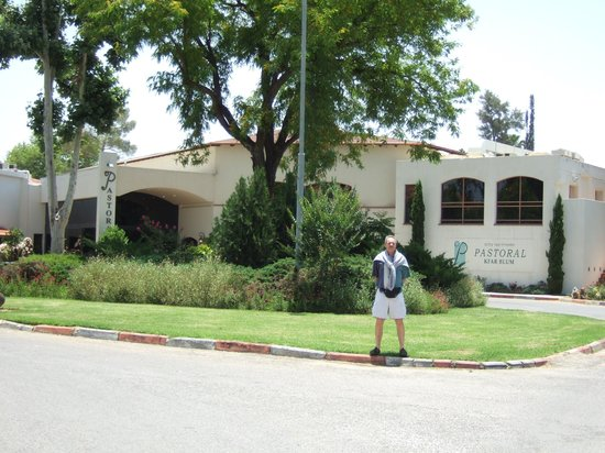 Pastoral Hotel - Kfar Blum : Front of the Main Building