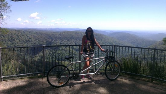 The Mouses House Rainforest Retreat: bikes are free to use. waterfall 5minutes down road