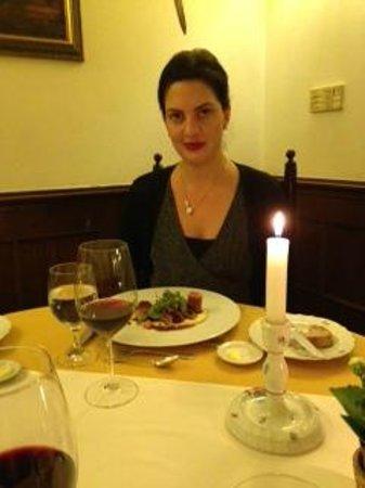 Alabardos Restaurant : Ingrid